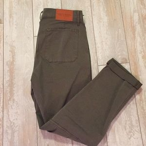 NWT Lucky brand olive green pant